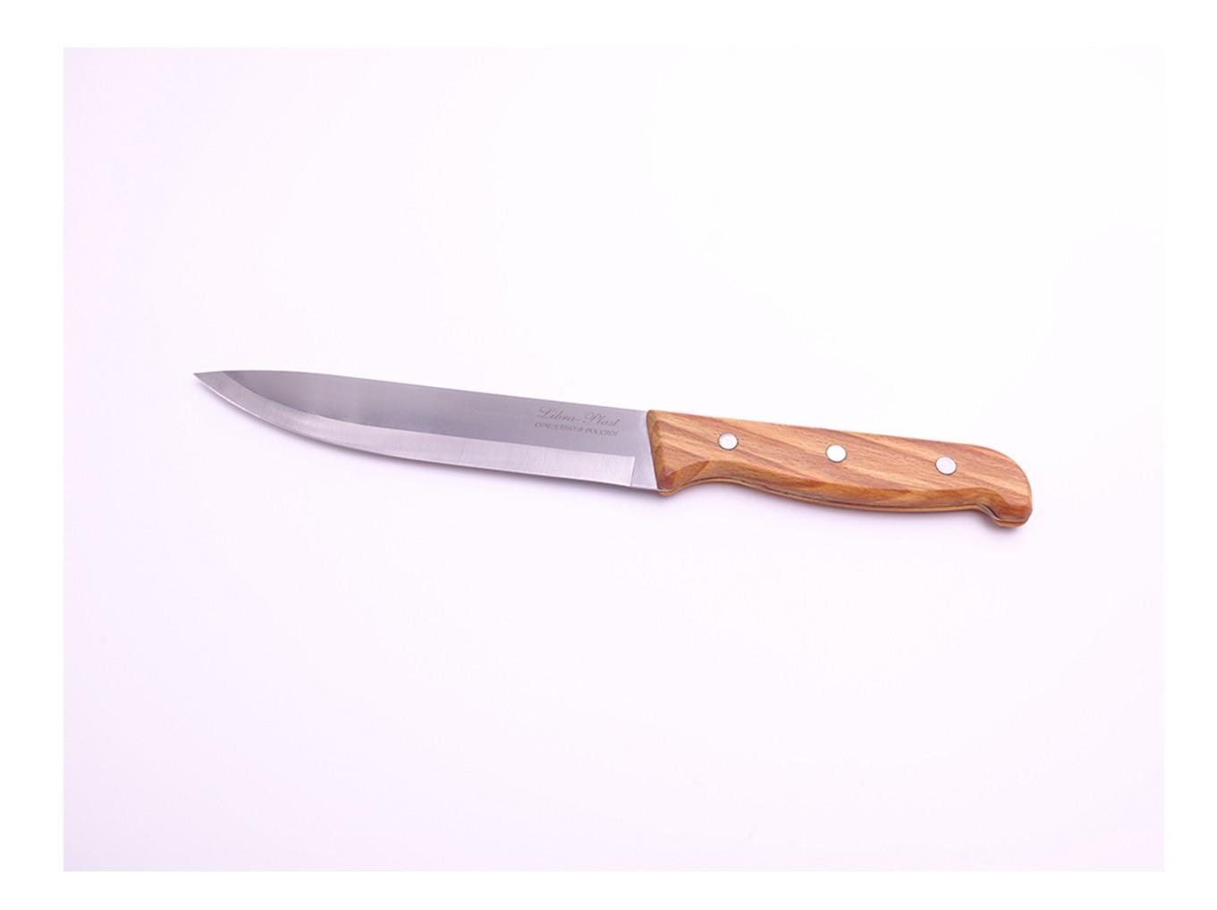 Нож кухонный с деревянной ручкой 25см КН-102