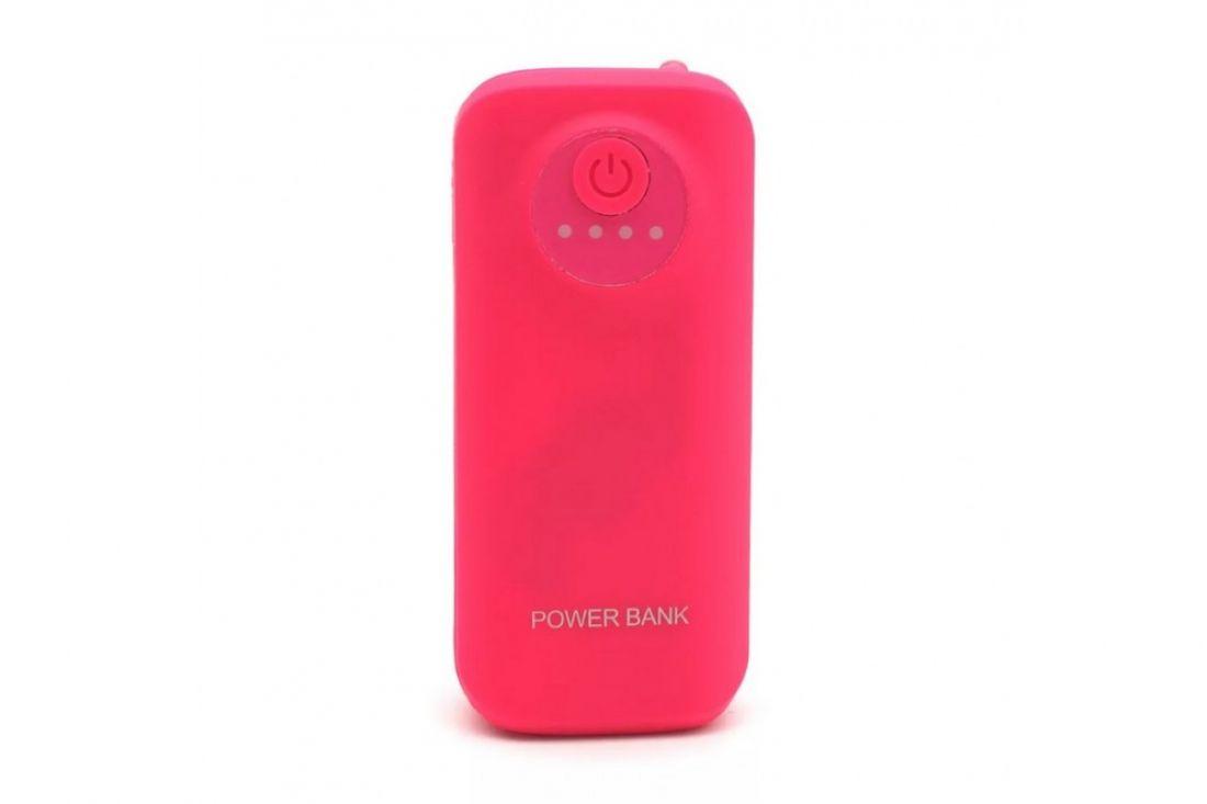 Портативное зарядное устройство Power Bank 6800mAh YS27 (Розовый)