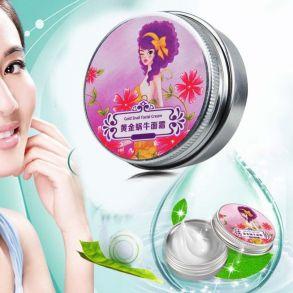 Крем для лица Gold Snail Facial Cream со слизью улитки омолаживающий , 30 гр