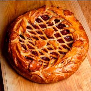 Сладкий пирог с вишней 1000г