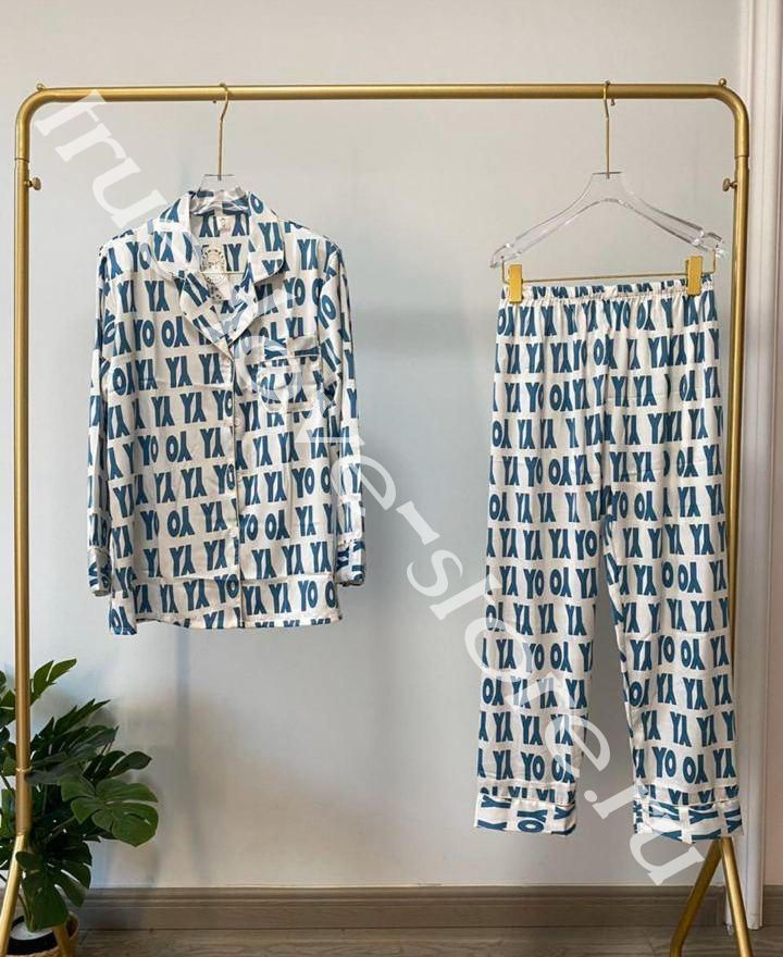 720184 -1- Цена за 2 шт, Пижама двойка VS Орнамент YO (L,XL)