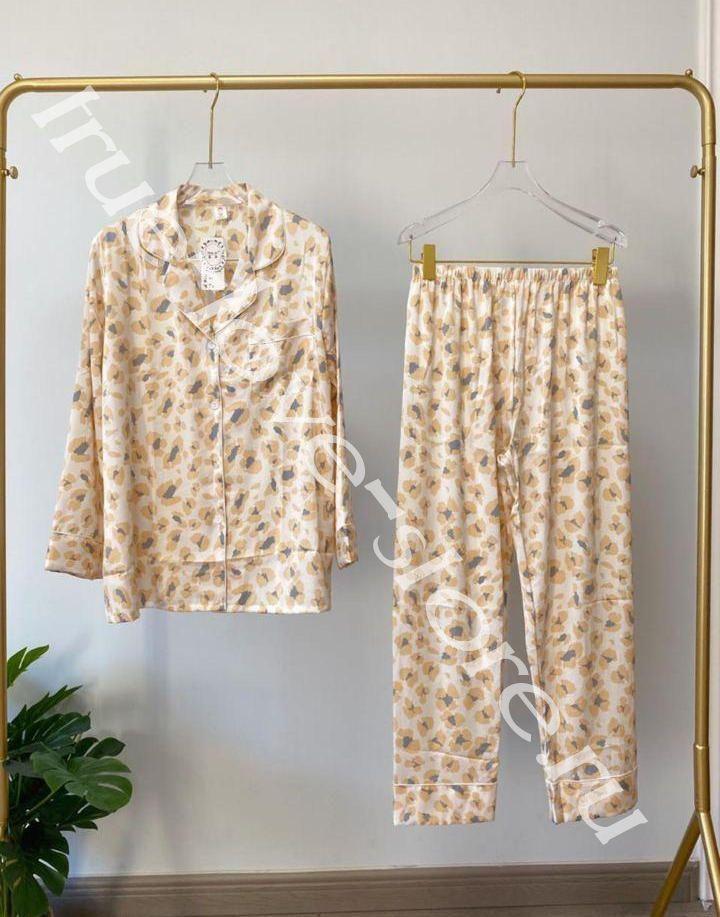 720184 -2- Цена за 2 шт, Пижама двойка VS Орнамент (L,XL)