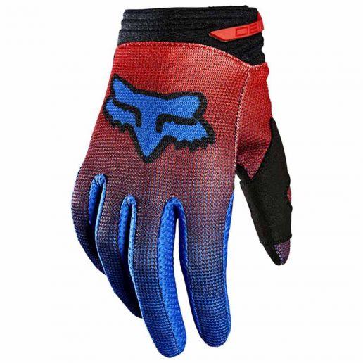 Fox 2021 180 Oktiv Fluorescent Red перчатки