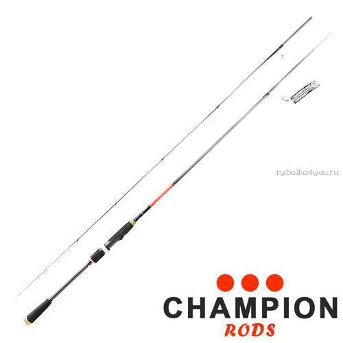 Спиннинг Champion Rods Team Dubna Generation II 2.2 м / тест 3-14 гр /4-12lb TD-732L
