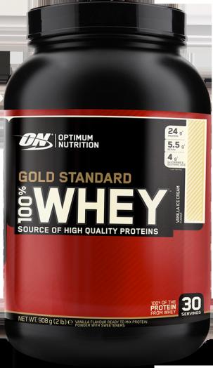 100% Whey protein Gold standard 2,27 кг.