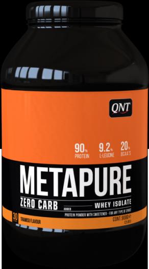 Протеин QNT Metapure Zero Carb (банан) 1 кг, QNT