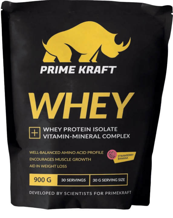 Whey (клубника-банан), Prime Kraft
