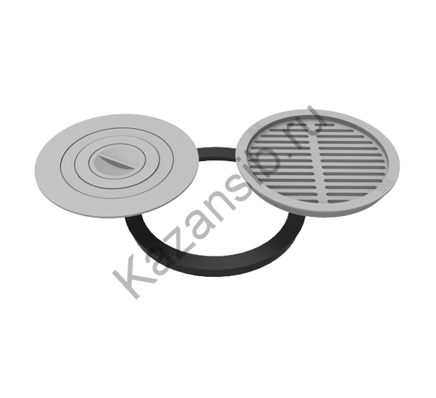 Комплект 400 (плита+решётка-гриль)