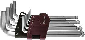 HKB10S Набор ключей торцевых шестигранных с шаром, H1.5-H10, 10 предметов