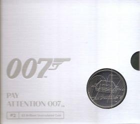 Джеймс Бонд II 5 фунтов Великобритания 2020 на заказ