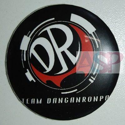 Значок (Средний 37 мм) Danganronpa