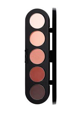 Make-Up Atelier Paris Palette Eyeshadows T19  Палитра теней для век №19 Тона розовое дерево обновленная палитра