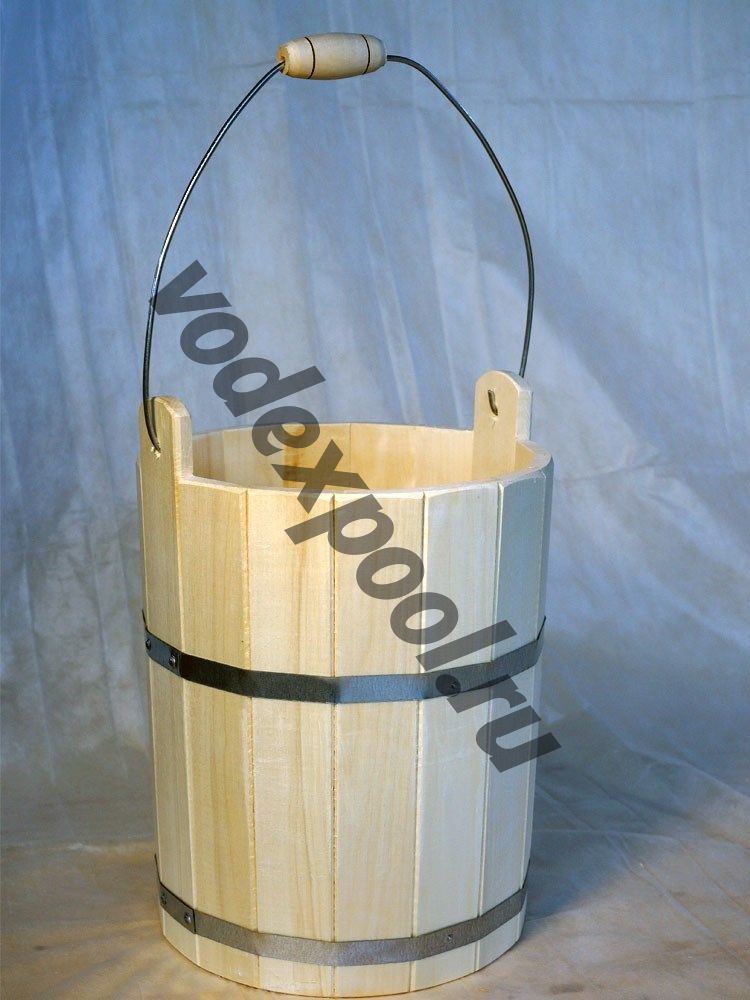 Ведро деревянное 18 л