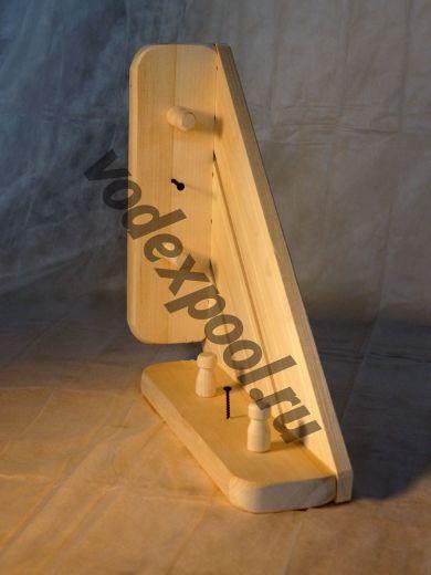Вешалка угловая, деревянная