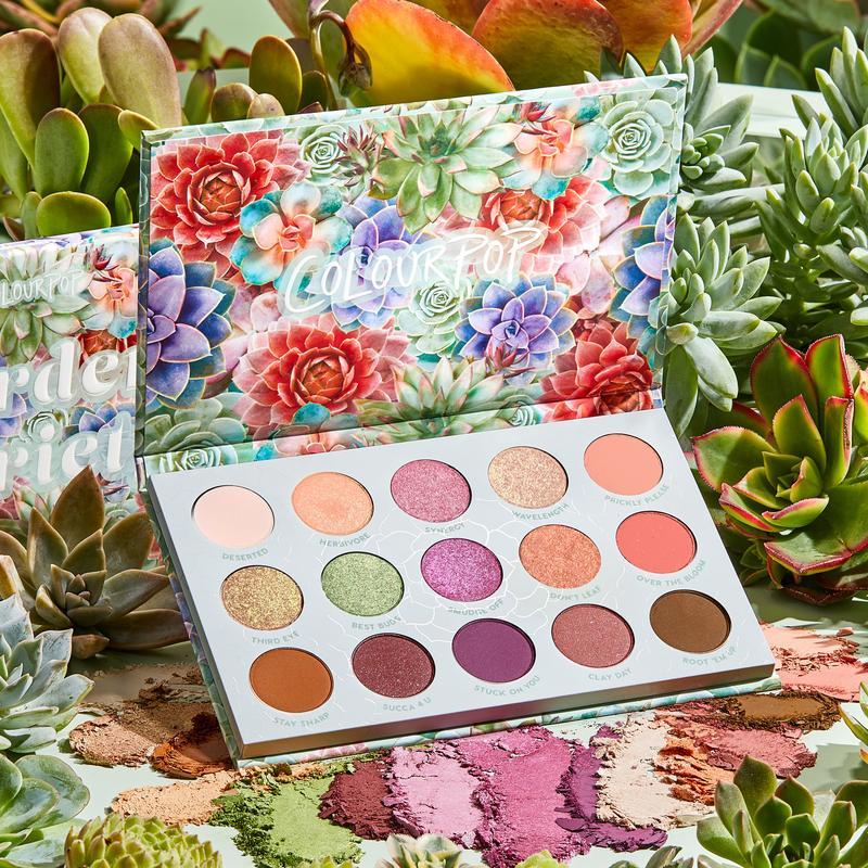 Палетка теней ColourPop  Garden Variety
