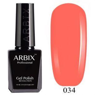Гель лак  ARBIX № 34