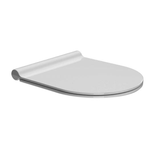 """Сидение """"Slim"""" с крышкой для унитаза GSI Kube X MS76SN soft-close"""