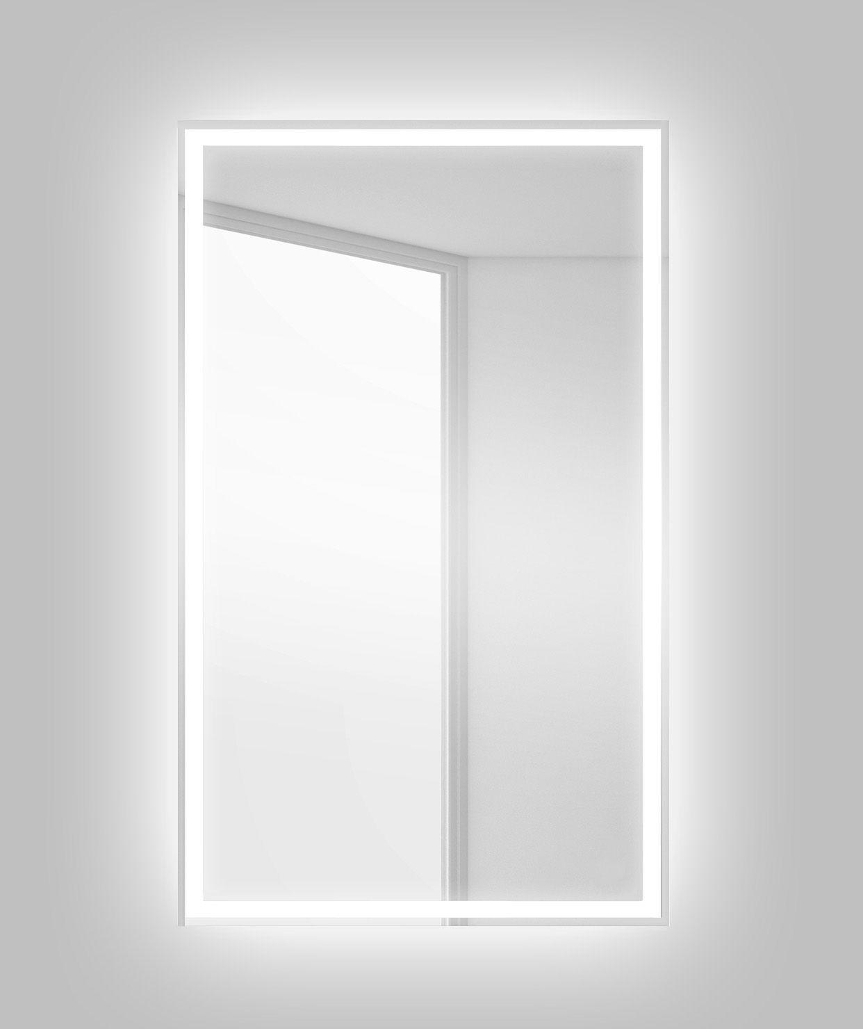 Зеркало для ванной комнаты BelBagno SPC-GRT-500-800-LED-BTN ФОТО