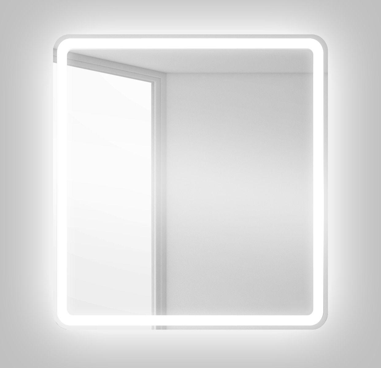 Зеркало для ванной BelBagno SPC-MAR-500-600-LED-BTN ФОТО