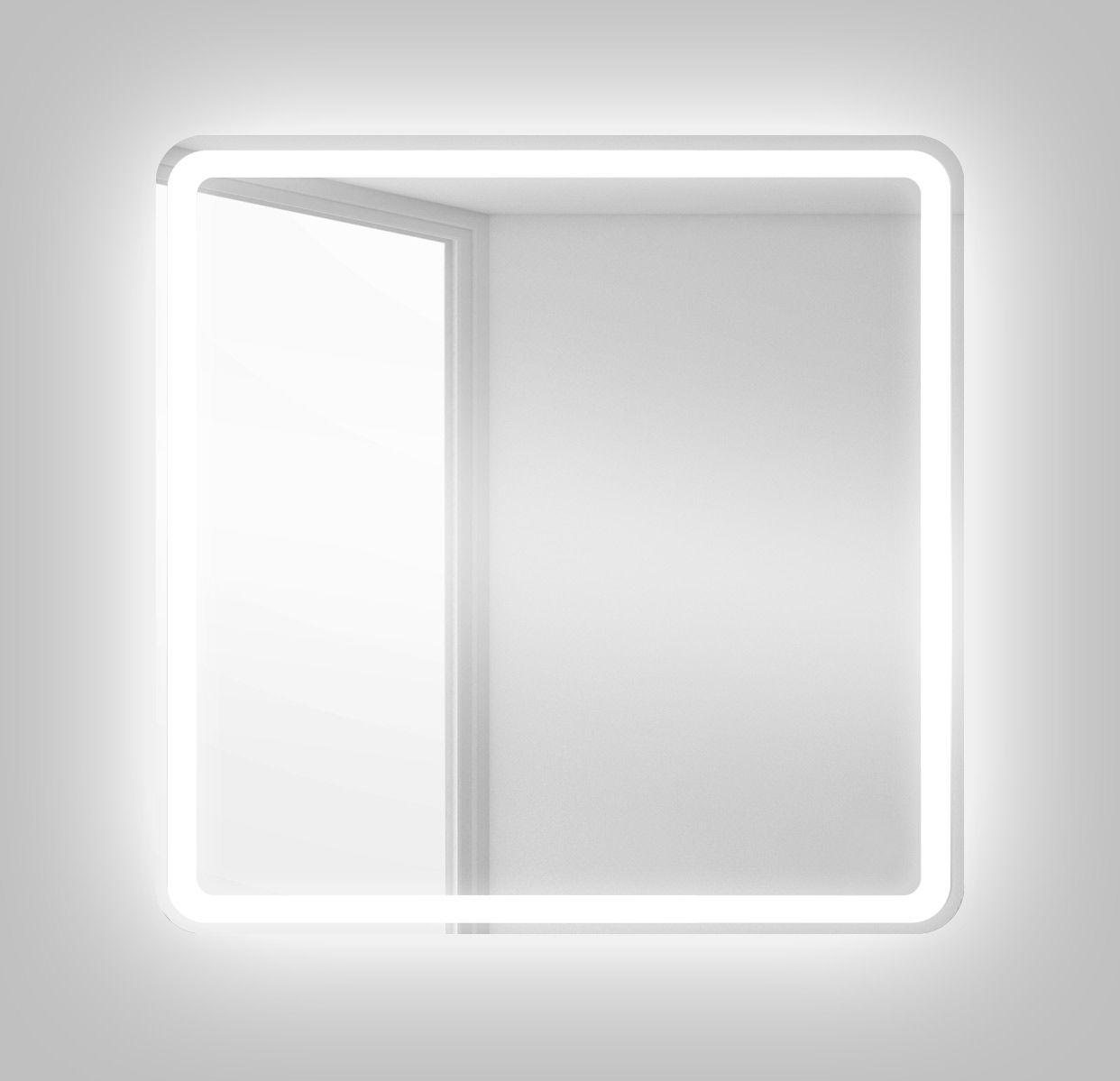 Зеркало для ванной комнаты BelBagno SPC-MAR-600-600-LED-BTN ФОТО