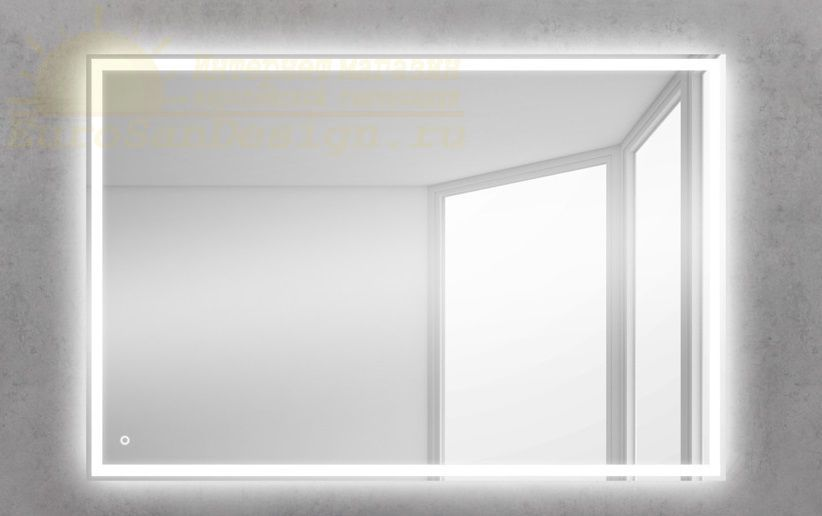 Зеркало для ванной комнаты BelBagno SPC-GRT-500-600-LED-TCH ФОТО