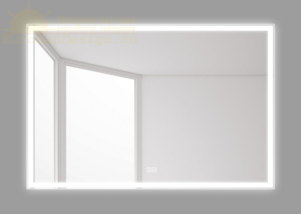 Зеркало для ванной комнаты BelBagno SPC-GRT-1200-800-LED-TCH-WARM ФОТО