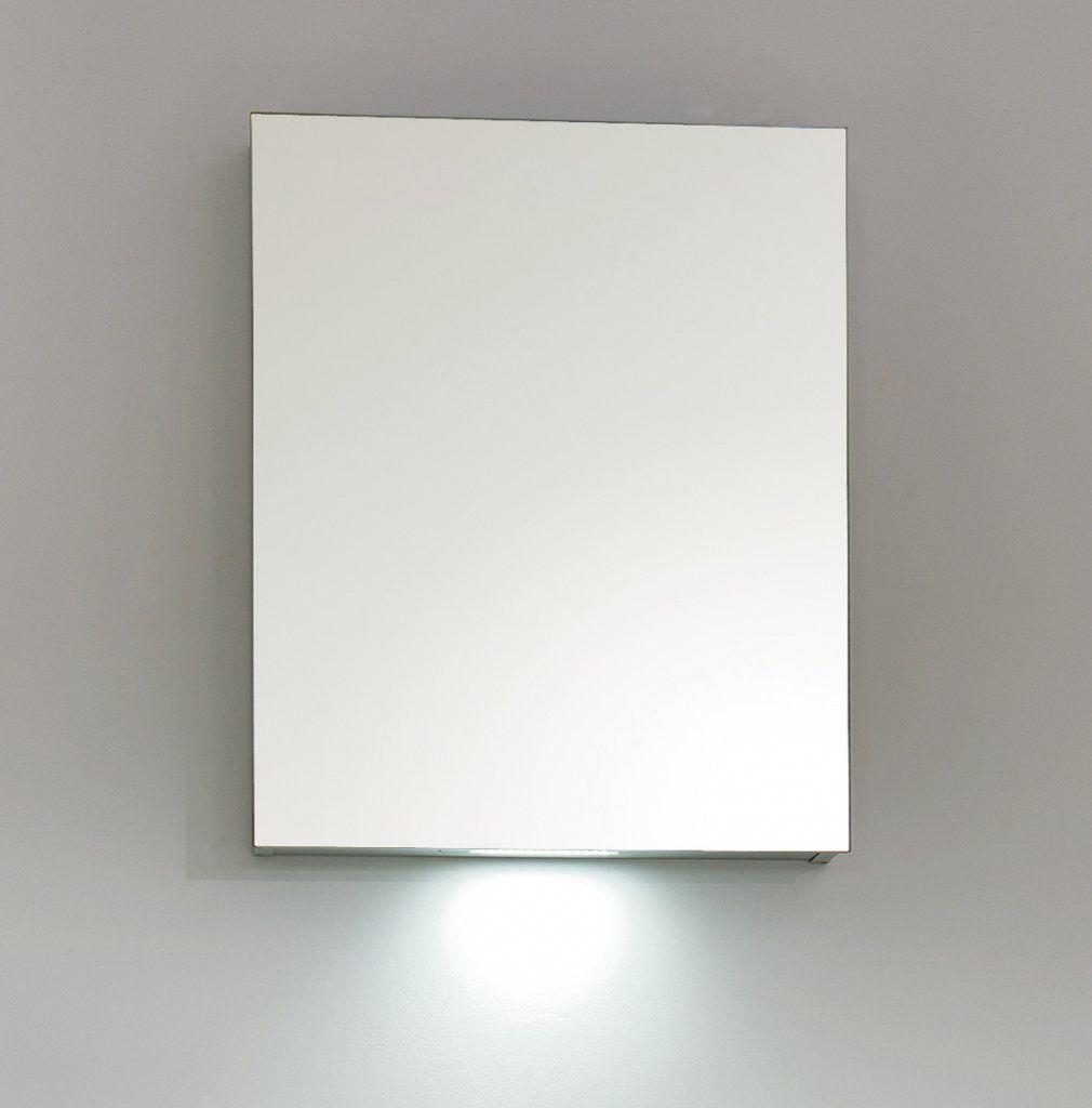 Шкаф зеркало в ванную комнату BelBagno SPC-1A-DL-BL-600 ФОТО