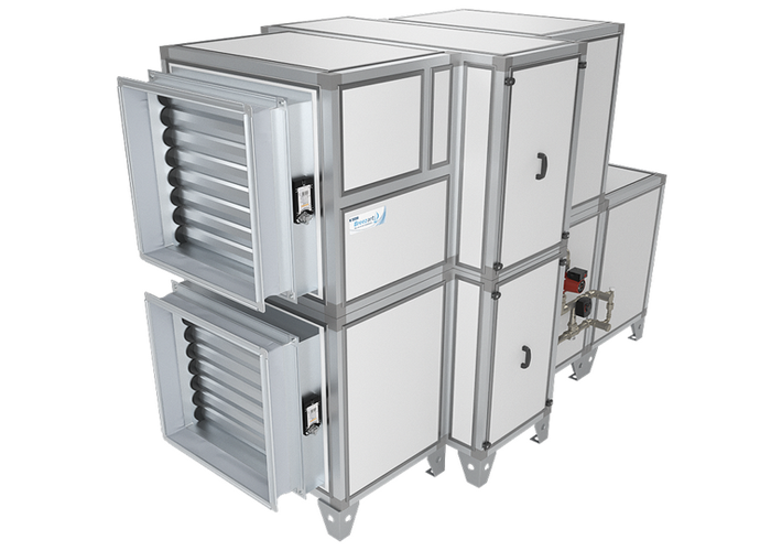 Приточно-вытяжная установка Breezart 12000 Aqua RR