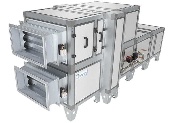 Приточно-вытяжная установка Breezart 3700 Aqua RR F
