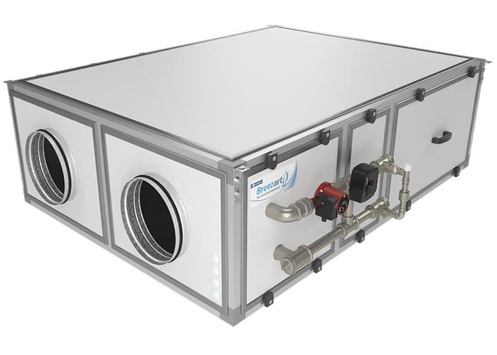 Приточно-вытяжная установка Breezart 1000 Aqua RP SB