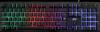 НОВИНКА. Проводная игровая клавиатура Arx GK-196L RU,радужная подсветка
