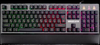 НОВИНКА. Проводная игровая клавиатура Annihilator GK-013 RU,RGB подсветка