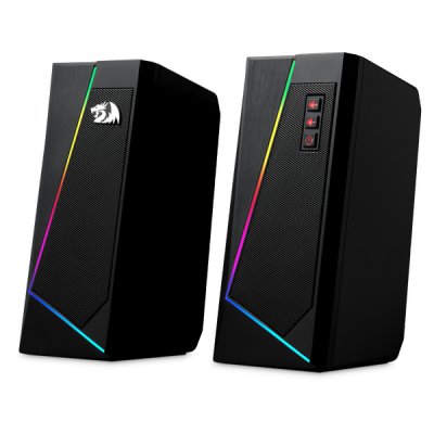 НОВИНКА. Акустическая 2.0 система Anvil черный, 6 Вт, питание от USB