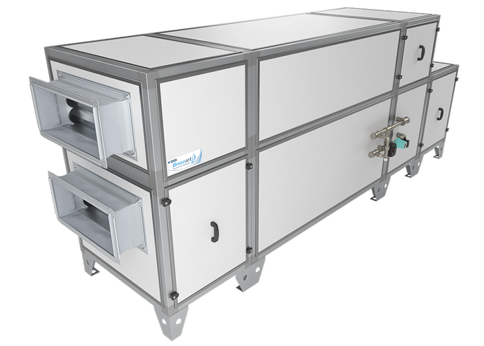 Приточно-вытяжная установка Breezart 4500 Aqua RP PB