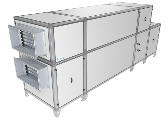 Приточно-вытяжная установка Breezart 16000 Aqua RP PB
