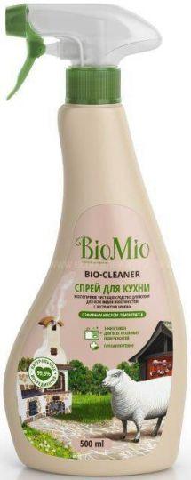 Bio-Mio Bio-Kitchen Cleaner чистящий спрей для кухни Лемонграсс 500 мл