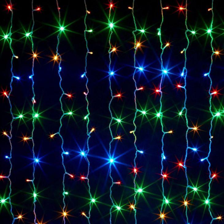 Светодиодная гирлянда Шторка 240 LED , 2*2 м.
