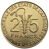 Западно-Африканский союз 25 франков 2011 г.