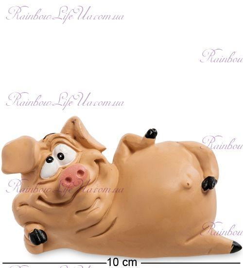 "Фигурка свинка оптимистка ""WS"""