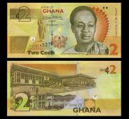 Гана - 2 седи, 2017. UNC. Мультилот