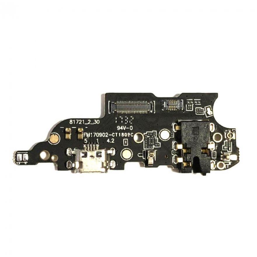 Нижняя плата с разъемом зарядки, микрофоном и аудио разъемом для Meizu M6 Note