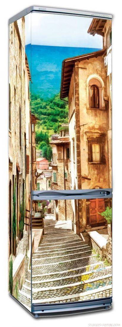 Наклейка на холодильник - Неаполитанская