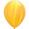 "Q 11"" Супер Агат  Yellow Orange , 1 шт"