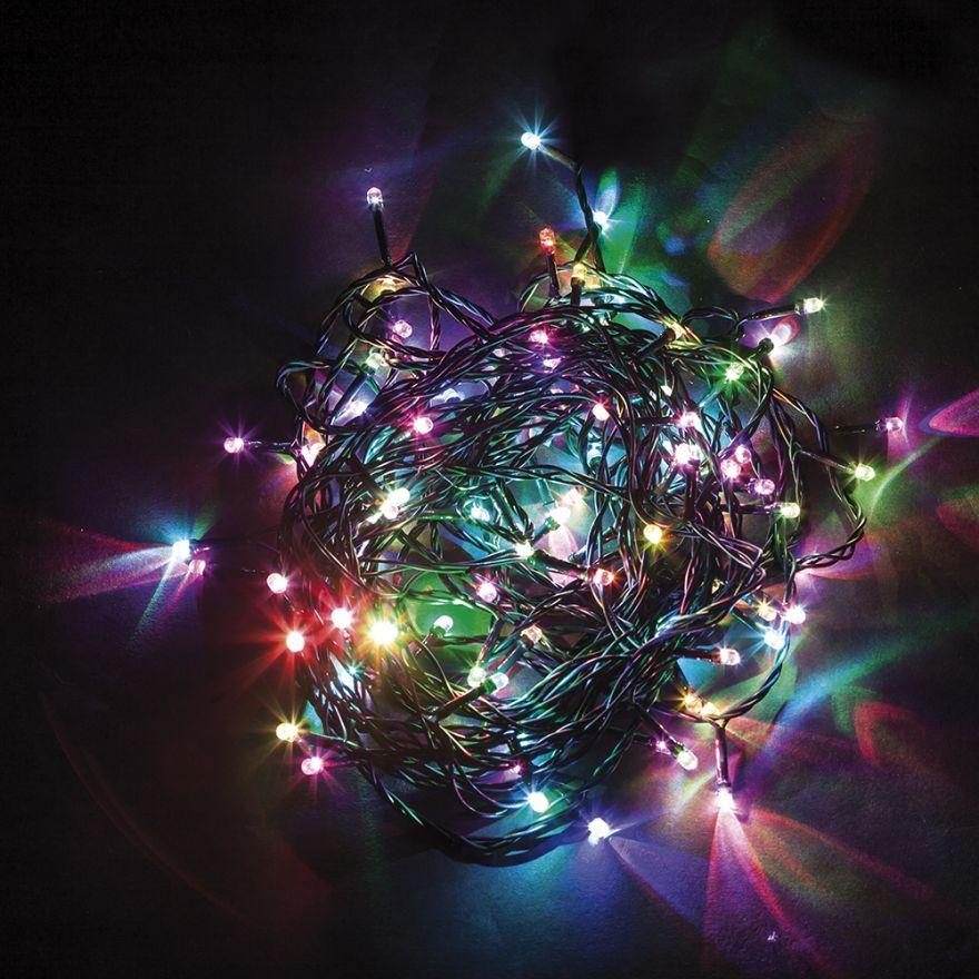 Гирлянда электрическая Feron CL04 разноцветная