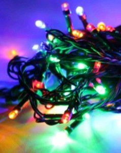 Гирлянда электрическая Космос KOC_GIR50LED_RGB разноцветный