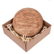 "Шоколад ""Счастливая монета"", в коробочке"