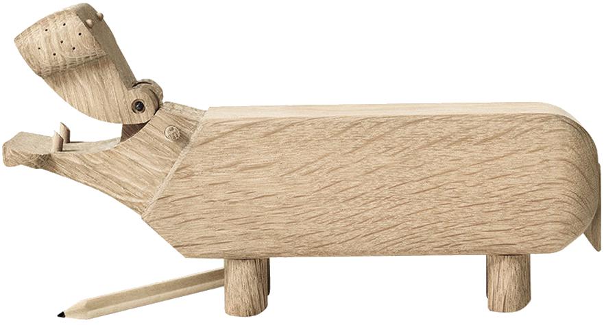 Деревянный бегемотик Hippo