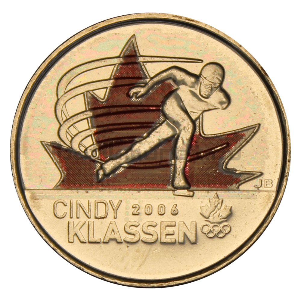 25 центов 2009 Канада Синди Классен Цветная