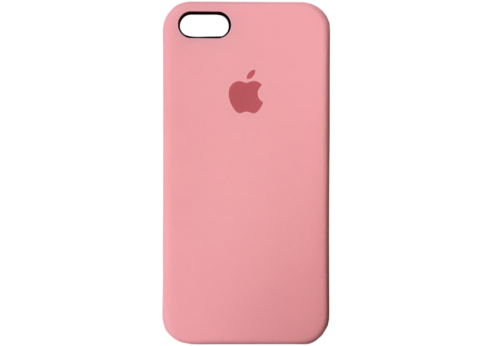 Apple silicon case для iPhone 5/5s/se (розовый)