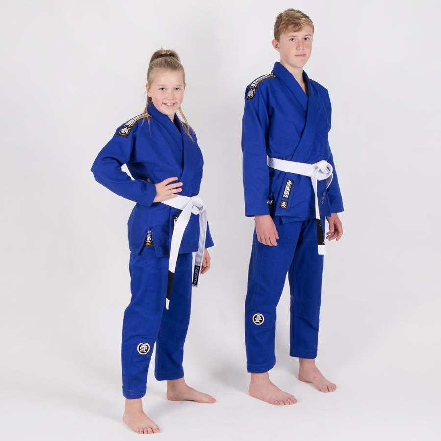 Детское кимоно Tatami Nova Absolute Blue